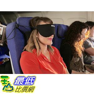[106美國直購] GOSLEEP GSBLK 二合一睡眠枕 2 in 1 Travel Sleep Mask with Memory Foam Pillow