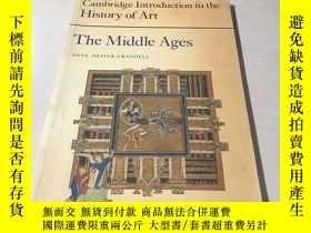 二手書博民逛書店history罕見of art The Middle agesY