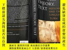 二手書博民逛書店History,罕見Theory, Text: Historia