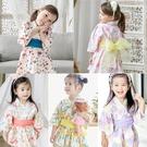 Augelute 日式和服浴衣洋裝 和風 附腰帶 女童 連身裙 連衣裙 洋裙 戲劇表演 party 造型服 60364