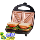 [8美國直購] 不沾鍋 Gotham Steel Dual Electric Sandwich Maker and Panini Grill with Ultra Nonstick Copper Su...