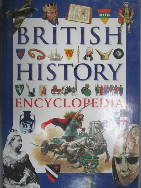 【書寶二手書T8/歷史_FK3】Encyclopaedia of British History_Nicola Barber, Andrew Langley