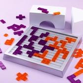 桌游玩具方格親子類互動益智力棋類玩具