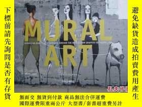 二手書博民逛書店MURAL罕見ART (Murals on huge publi