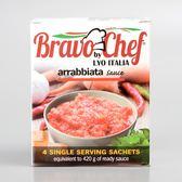 義大利【Bravo Chef】香辣蕃茄醬(義大利麵用)4包