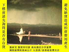 二手書博民逛書店2手英文罕見Ominous Hush: The Thunderstorm Paintings of Martin