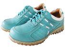 『雙惠鞋櫃』★路豹Zobr★ 俏麗素面款 女牛皮休閒鞋★台灣製造 (T769d) 水藍白