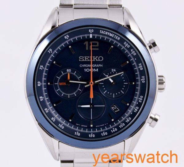 【萬年鐘錶】SEIKO 大錶徑競速計時腕錶 6T63-00J0B (SSB091P1)