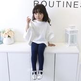 女童連褲襪春秋兒童連體舞蹈襪子白色學生寶寶練功打底褲襪棉外穿