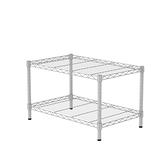 (組)特力屋烤漆二層架 -白  75x46x45CM
