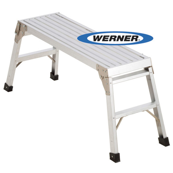 美國Werner穩耐安全鋁梯-AP-20 鋁合金工作平台 洗車台