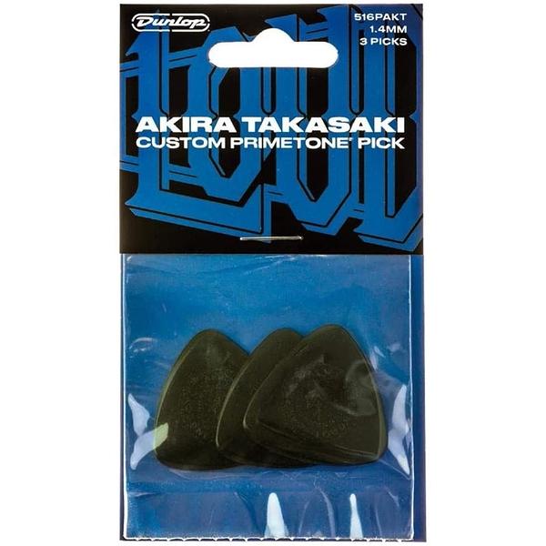 小叮噹的店 DUNLOP 516PAKT 1.4mm PICK 彈片 AKIRA TAKASAKI 3片/包