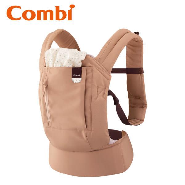 康貝 Combi Join 舒適減壓腰帶式背巾 奶茶棕