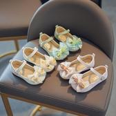 小皮鞋女童皮鞋2020春秋單鞋新款蝴蝶結公主鞋兒童鞋小女孩軟底鞋子 童趣屋