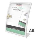 美國迪多Deflect-o 抗眩光曲面展示架A5(白)