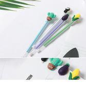 《ZB0723》小清新可爱卡通蔬菜猫爪卡通中性筆  OrangeBear