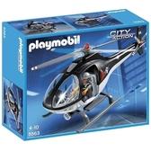 特價 playmobil 警察系列 機動部隊直升機_ PM05563