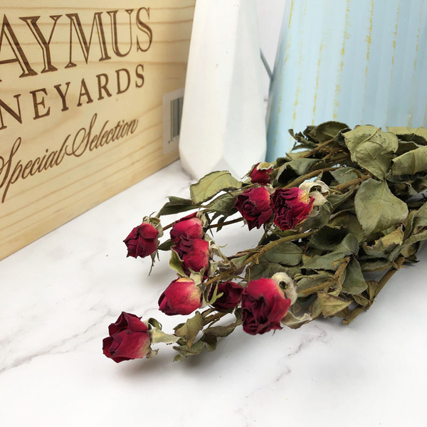 進口乾燥天然玫瑰花-乾燥花圈 乾燥花束 拍照道具 手作素材 室內擺飾 乾燥花材 鄉村風-68元/束