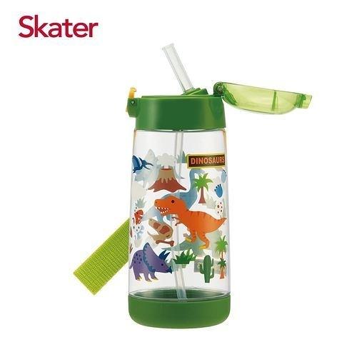 Skater PET吸管水壺(480ml)恐龍〔衛立兒生活館〕