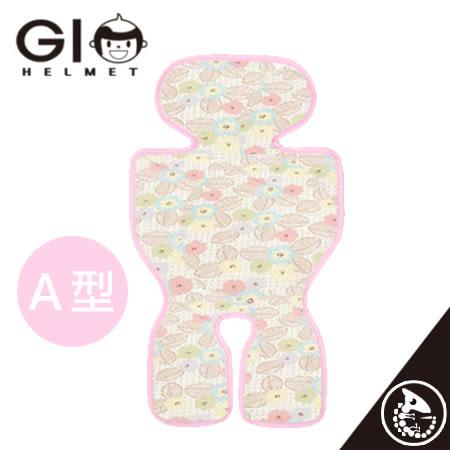 金寶貝 韓國 GIO Pillow Ice Seat 超透氣 涼爽 座墊 A型 粉漾花朵【32675】