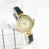 專柜JULIUS聚利時女士手錶文藝復古學生防水皮帶女錶超薄 浪漫西街