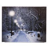 雪景裝飾畫