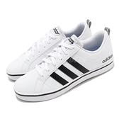 adidas 休閒鞋 VS Pace 白 黑 男鞋 滑板鞋 基本款 皮革鞋面 運動鞋 【ACS】 AW4594