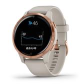 【岱宇國際Dyaco】VENU AMOLED GPS 智慧腕錶-白砂玫瑰金