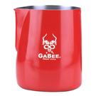 金時代書香咖啡 GABEE. 1407B拉花杯 300CC (紅) HC7102RD