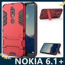 NOKIA 6.1 Plus 變形盔甲保...