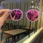 兒童墨鏡女童太陽鏡眼鏡粉色時尚男孩墨鏡88折開學季,88折下殺