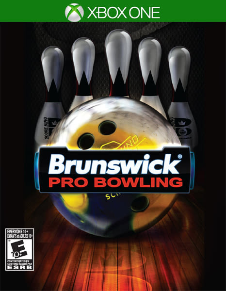 X1 Brunswick Pro Bowling 布倫瑞克職業保齡球(美版代購)