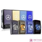 Mercedes Benz 賓士 男性香水禮盒[王者之星/紳藍爵士/私人定製/輝煌之星](5mlX4)-國際航空版【美麗購】