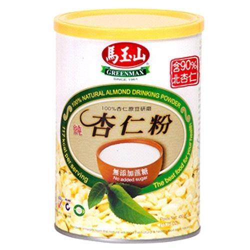 馬玉山無糖杏仁粉450g【愛買】
