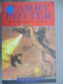 【書寶二手書T1/原文小說_IOE】Harry Potter and the Goblet of Fire_J. K. Rowling