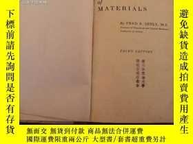 二手書博民逛書店英文原版:Resistance罕見of Materials(Th