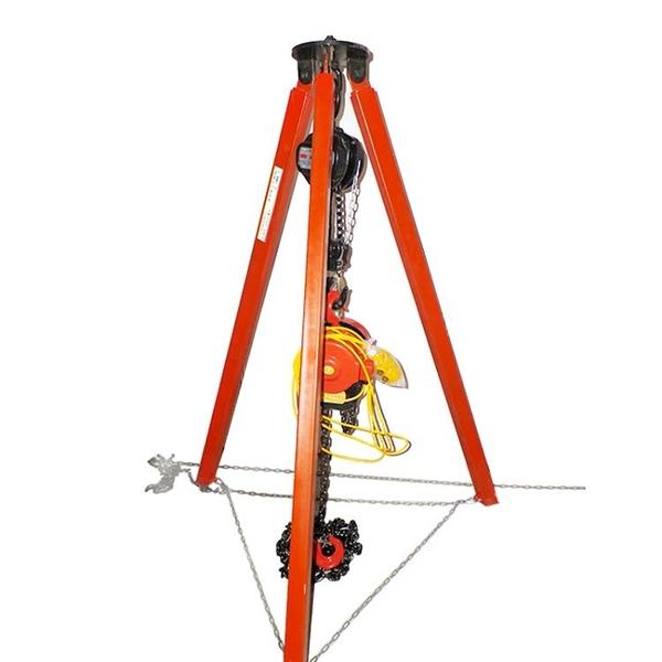 新品吊葫蘆支架可伸縮式三腳架電動葫蘆起重三角支架 萬客居