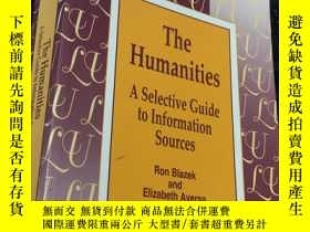 二手書博民逛書店The罕見Humanities : A Selective Guide to Information Source