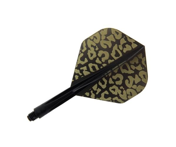 【CONDOR】Leopard Standard Short Black 鏢翼 DARTS