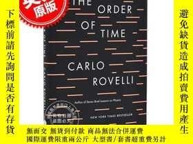 二手書博民逛書店時間的秩序罕見英文原版 The Order of Time 精裝