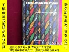 二手書博民逛書店RACE罕見AND ETHNIC RELATIONSY16103