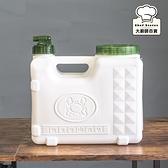 聯府螃蟹兩用儲水桶10L露營飲水桶密封水箱P80910