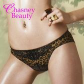 Chasney Beauty-Urban Jungle豹紋S 蕾絲三角褲