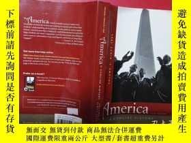 二手書博民逛書店America罕見A CONCISE HISTORYY6515