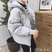 男士外套冬季棉衣男韓版潮流連帽棉服學生寬鬆面包服帥氣棉襖子男 卡卡西