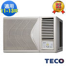 TECO東元11-13坪R410定頻右吹式窗型冷氣 MW56FR1
