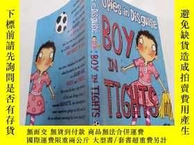 二手書博民逛書店Boy罕見in tights:穿緊身衣的男孩Y200392
