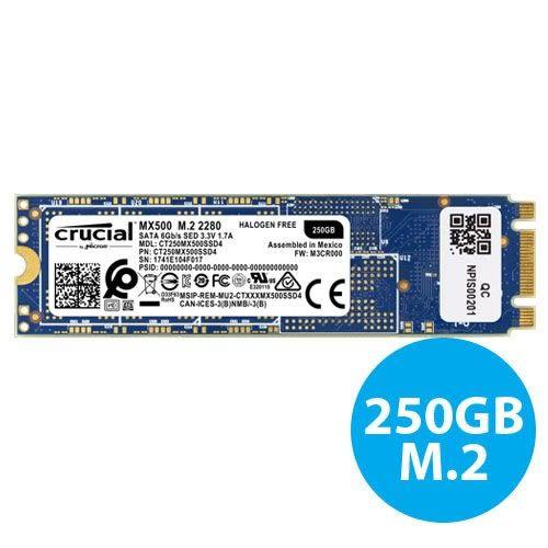 全新 美光 MICRON MX500 250GB M.2 SATA 2280 SSD 固態硬碟