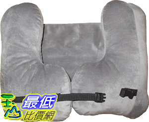 [8美國直購] 航空頭枕 SkySiesta SNUG Travel Pillow- Two L-Shaped, Fiber Filled Head Supports, Bag, Eye Mask