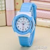 手錶  兒童手錶男孩女孩防水可愛學生電子錶男童女童石英錶夜光韓版小孩 下標免運